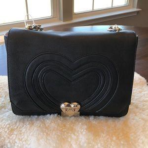 Brand New - Betsey Johnson black handbag/crossbody